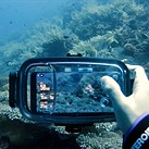 Diveroid housing turns your smartphone into a dive computer and underwater camera