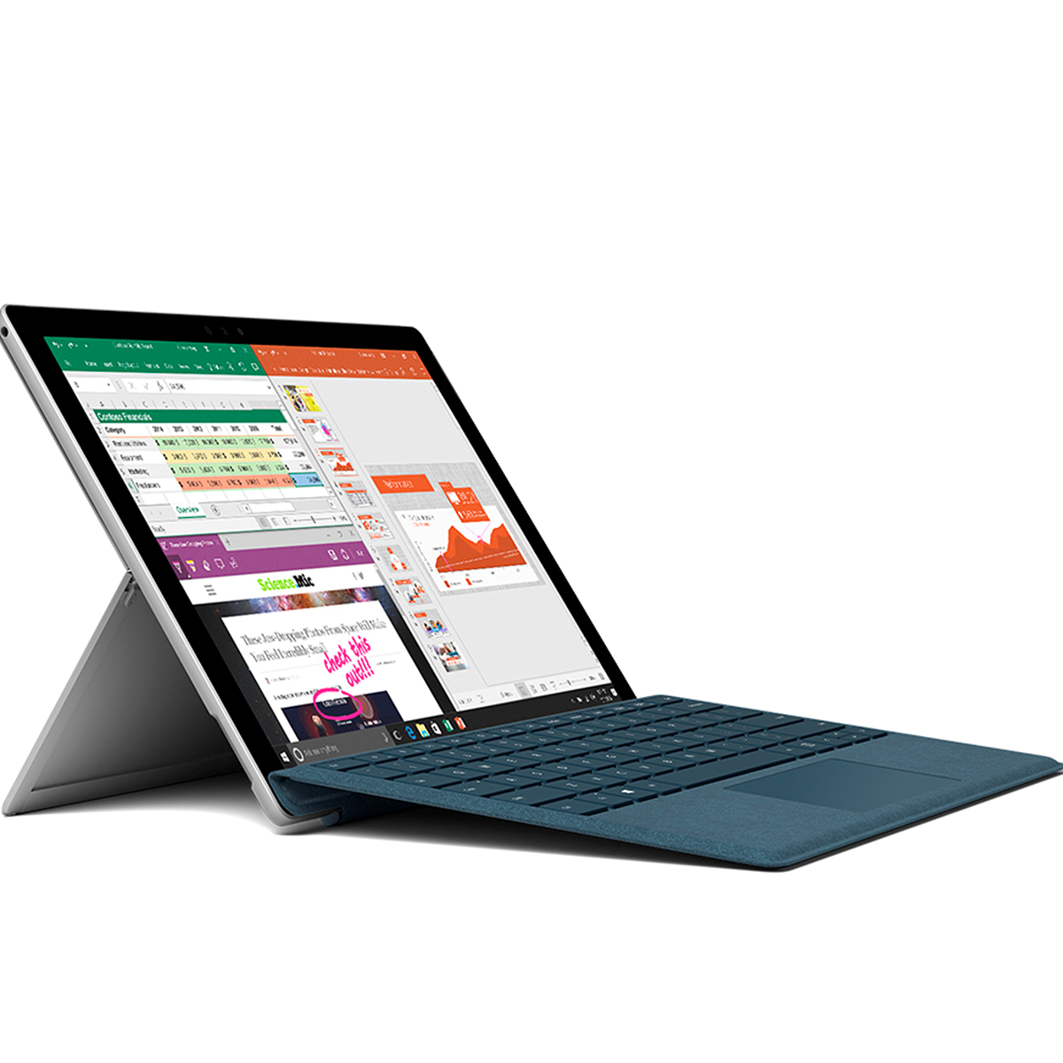The new Surface Pro: new processors, boosted battery life