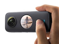 The Insta360 ONE X2 is an image-stabilized 5.7K 360-degree camera that fits in your pocket