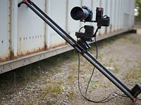 Axibo camera slider system uses AI to track faces and objects