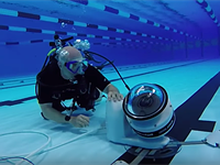 Getty employs robots for underwater shots in Rio