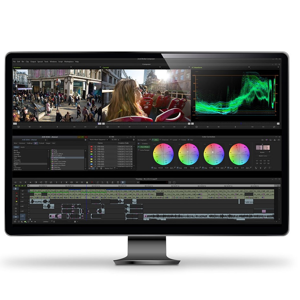 Avid Media Composer First offers pro-level video editing for