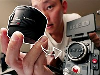 Video: Using a $50 lens on a $12,500 5K RED cinema camera