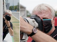 Video: What it's like to photograph Formula 1 in 60 seconds