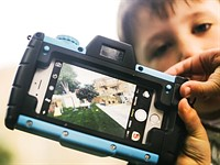 Pixlplay turns a smartphone into a big, durable 'camera' for kids