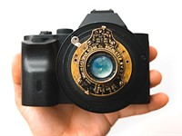 Video: Shooting video with a Vest Pocket Kodak camera lens from WWI