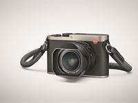 Leica introduces 'Titanium gray' version of its Q compact camera