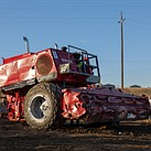 Photos: This is what it looks like when farm machinery goes to battle