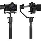 Gudsen's Moza AirCross gimbal can provide both stabilization and power