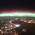 Viewing auroras from space: The ISS had a great view of a recent geomagnetic storm