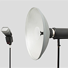 The Isolite intelligent modifier system lets you change a photo's lighting after it's taken