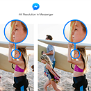 Facebook just doubled the resolution of photos in Facebook Messenger