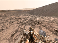 Explore Mars with 360-degree image shot by NASA Curiosity Rover