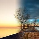 Capturing the same sunset, 2 years apart