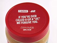 Jif partners with Giphy to settle the soft/hard 'G' debate with limited-edition jar of peanut butter