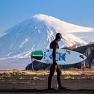 Photographing surfers on Russia's Kamchatka Peninsula