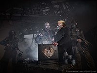 Benjamin Von Wong takes aim at coal pollution with post-apocalyptic photo shoot