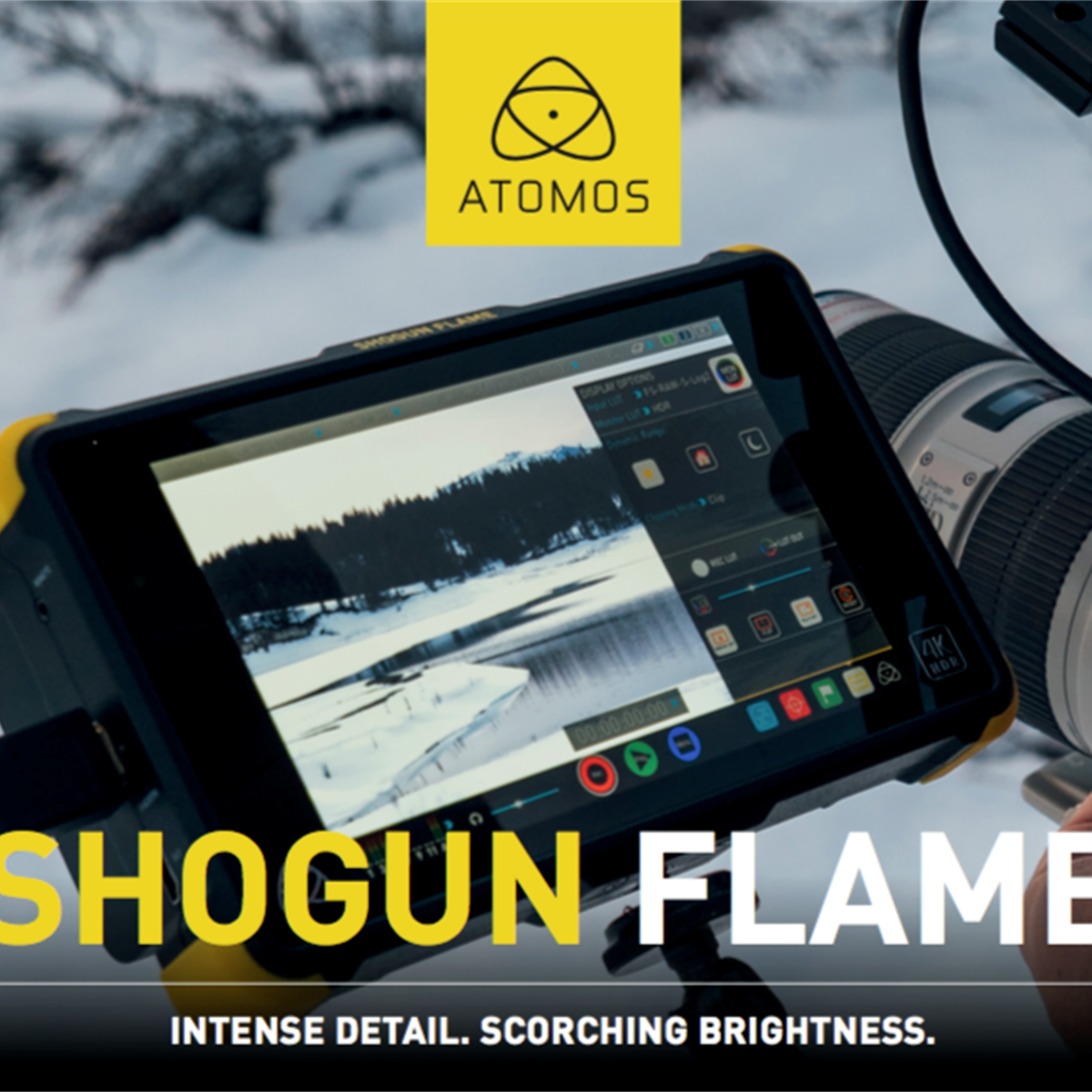 Atomos Releases New Flame Versions Of Shogun And Ninja Recorders 10 Sp Digital Photography Review