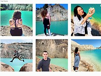 Instagram users are risking their health for images at Spain's toxic Monte Neme lake