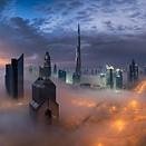Photo of the week: Dubai draped in fog