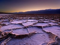 Photogenic Death Valley salt flats damaged by driver who abandoned van