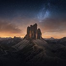 Photo story of the week: The Milky Way over the Dolomites