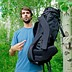 The Alotech ELEV 5800' is a back-contouring backpack for wildlife photographers