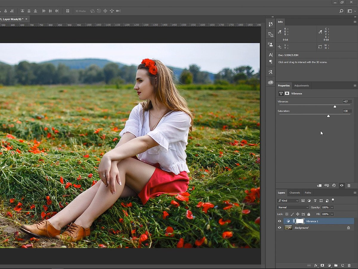 Video: The difference between Saturation and Vibrance explained