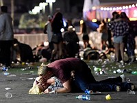 The story behind the most haunting photos from the Las Vegas shooting