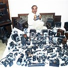 World record camera collector now has over 4500 – and a short film about himself