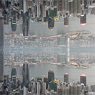 Trippy mirrored timelapse turns Hong Kong upside down