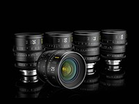 NiSi jumps into lens game, unveils five full-frame cinema prime lenses
