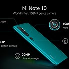 Xiaomi teases Mi Note 10 penta-camera smartphone with Samsung's new 108MP sensor