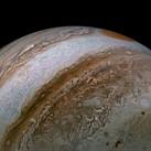 NASA's Juno spacecraft recently captured a stunning image of Jupiter