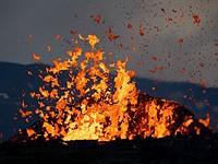 熔岩狂热:在冰岛射击Fagradalsfjall火山