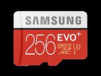 Samsung unveils 256GB EVO Plus microSD card