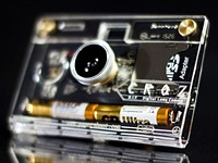 CROZ DIY camera offers just the basics in a tiny clear case