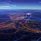 This animation shows the chaos a drone caused at a London airport