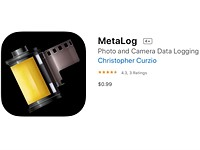 MetaLog iOS App makes it easy to record metadata for your film photography