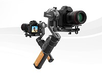 FeiyuTech releases new AK2000C gimbal with 2.2kg (5lbs) payload, 7-hour battery life