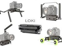 Loki camera rig transforms into four ultra-portable forms