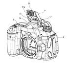 Canon could put continuous LED lights inside pop-up flash units according to patent application