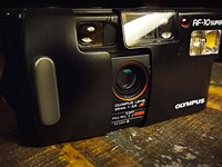Film Fridays: Olympus AF-10 Super - pushing the functional limits of a cheap point and shoot