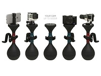 solidLUUV and ultraLUUV are stabilizers for smaller cameras and smartphones