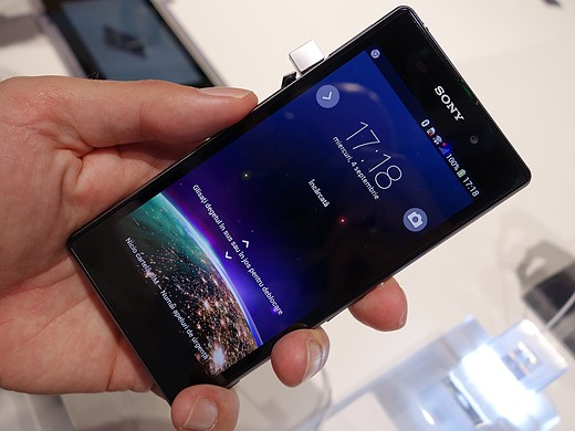 Hands-on with the 20.7MP Sony Xperia Z1