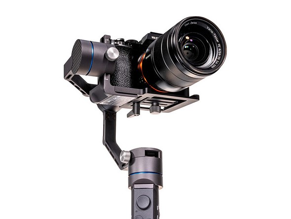 Benro launches RedDog R1, a 3-axis gimbal stabilizer with convertible handle