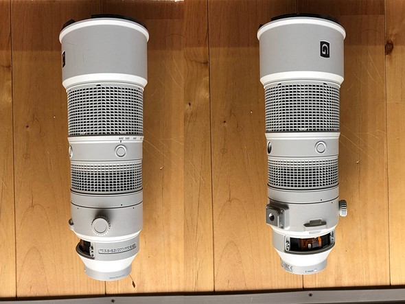 Unreleased Sony 200-600mm F5.6-6.3 G OSS FE lens prototype appears on auction website