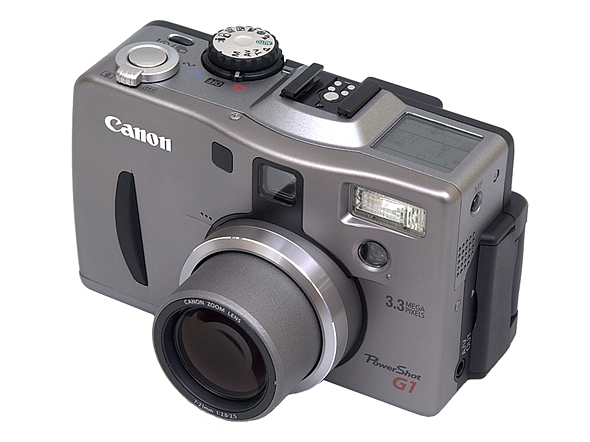 Throwback Thursday: the Canon PowerShot G1 1