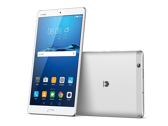 Huawei's MediaPad M3 is a high-end media consumption device 1