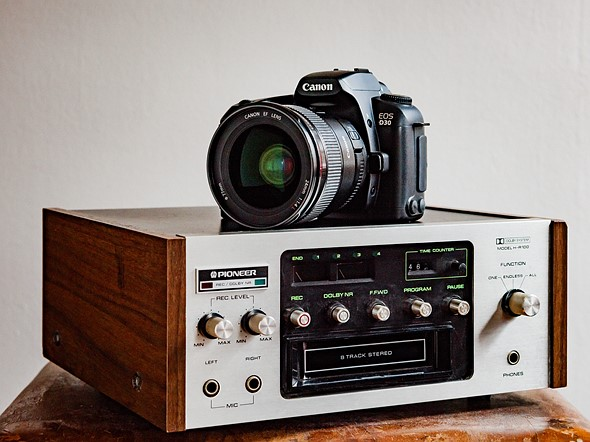 Throwback Thursday: Canon EOS D30 1